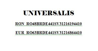 conturi universalis
